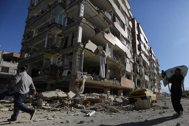 (Vídeo) Terremoto de 6,1 estremece a Irán dejando dos muertos y 241 heridos