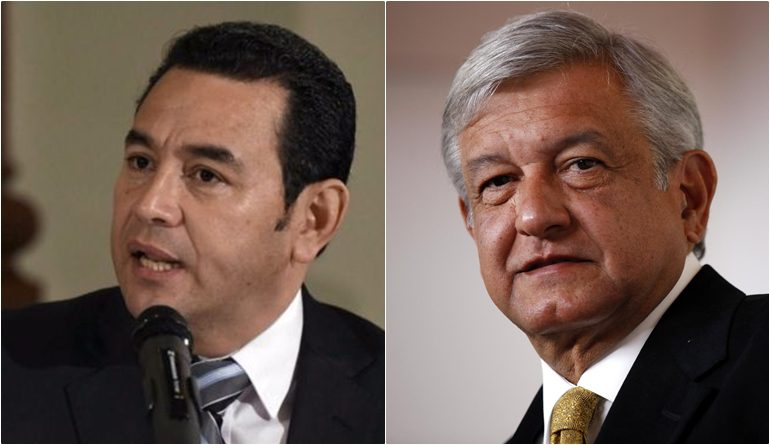 La migración será tratada este martes por el presidente mexicano  y su par guatemalteco
