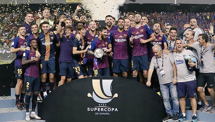 ¡Nuevo récord! Messi es el jugador con más títulos en la historia del Barcelona