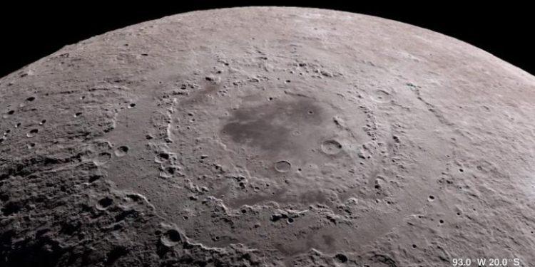 Confirman la existencia de hielo de agua en la superficie lunar