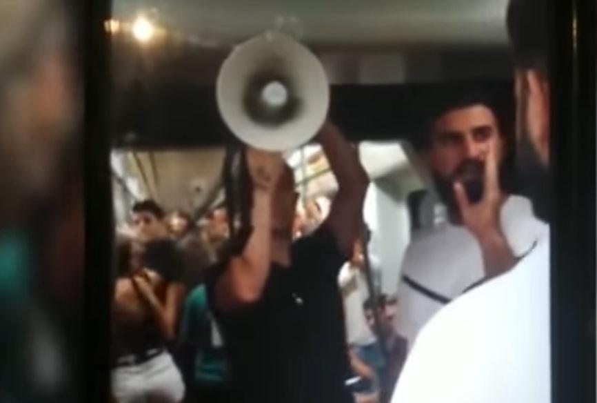 """""""Arderemos en el infierno"""" uno de los mensajes apocalípticos que causaron revuelo en tren de España (+Video)"""