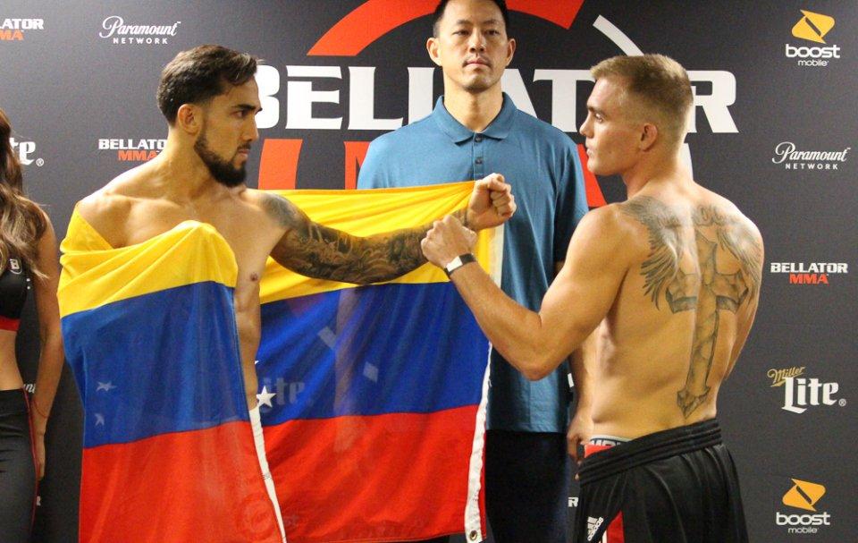 peleador venezolano Omar