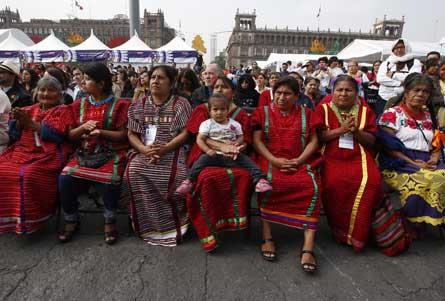 Celebrarán la quinta Fiesta de las Culturas indígenas en el Zócalo mexicano