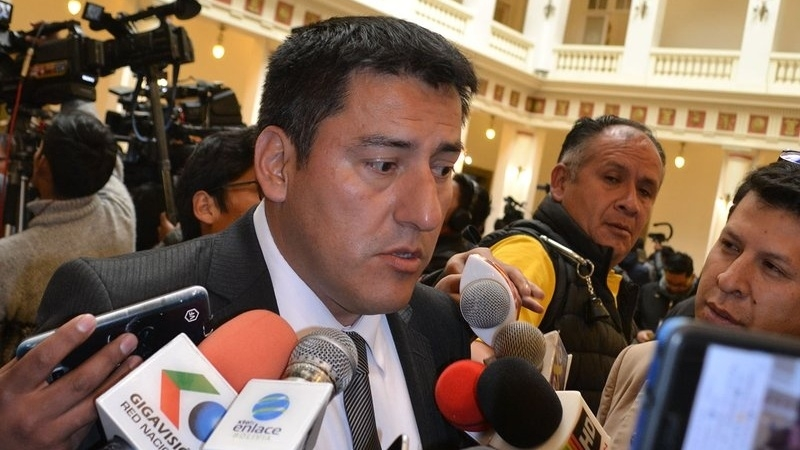 Rubén Salvatierra es nombrado nuevo Jefe de la Casa Militar boliviana
