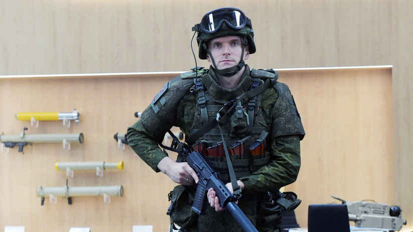(Video) Exoesqueleto ruso incrementa las capacidades físicas de los soldados en batalla