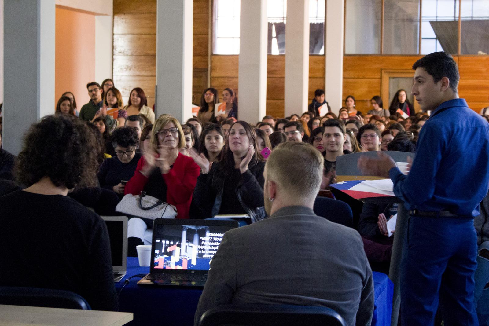 Valparaíso: Masiva participación en 1er Seminario de Niñez Trans