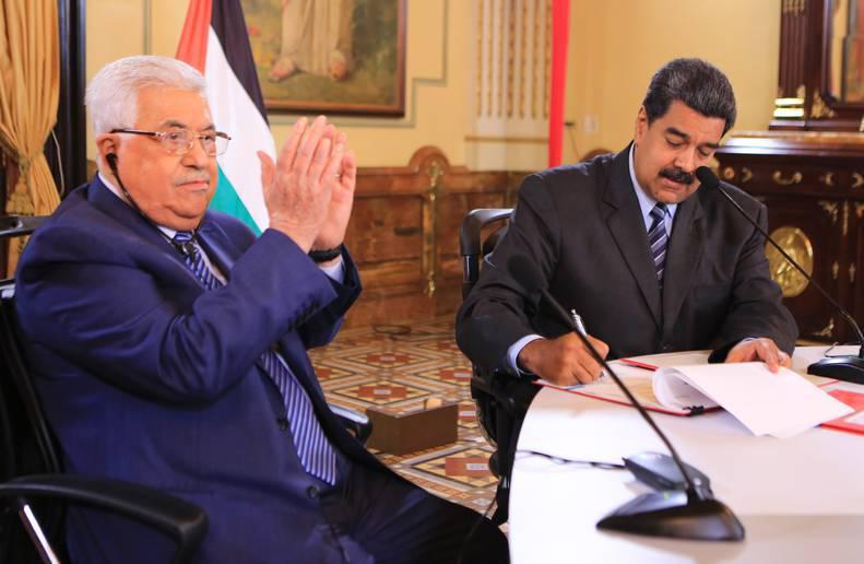 Palestina ratifica apoyo a la revolución bolivariana tras condenar atentado magnicida