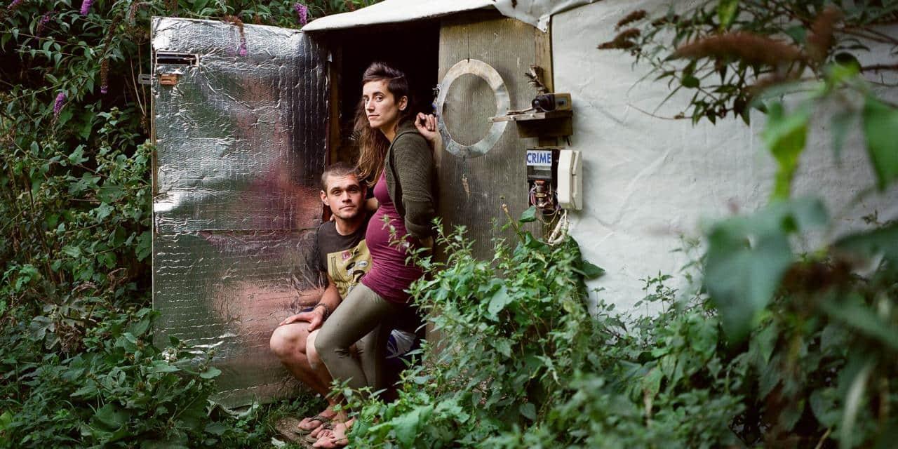 (Fotos) Una ecoaldea mágica, alocada y distante de la realidad emerge en Londres