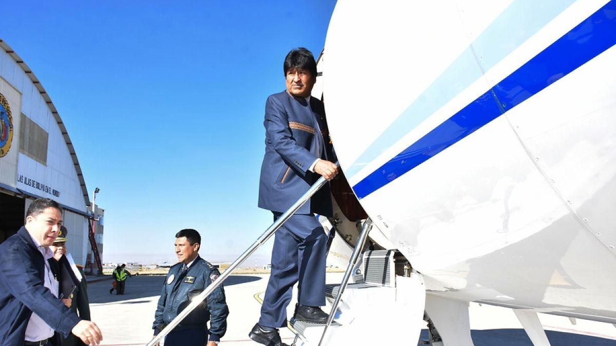 Evo Morales llegó a La Haya para conocer veredicto de acceso al mar