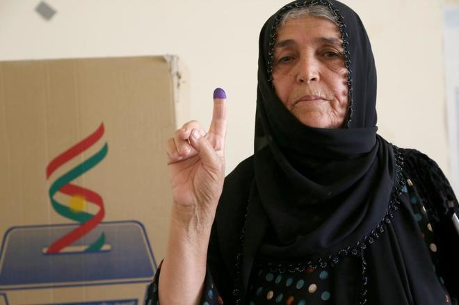 Centros kurdos iraquíes abren sin contratiempos para votación  parlamentaria