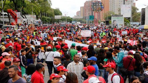 Marchista  por Allende: «En Venezuela no sucederá lo que ocurrió en Chile»