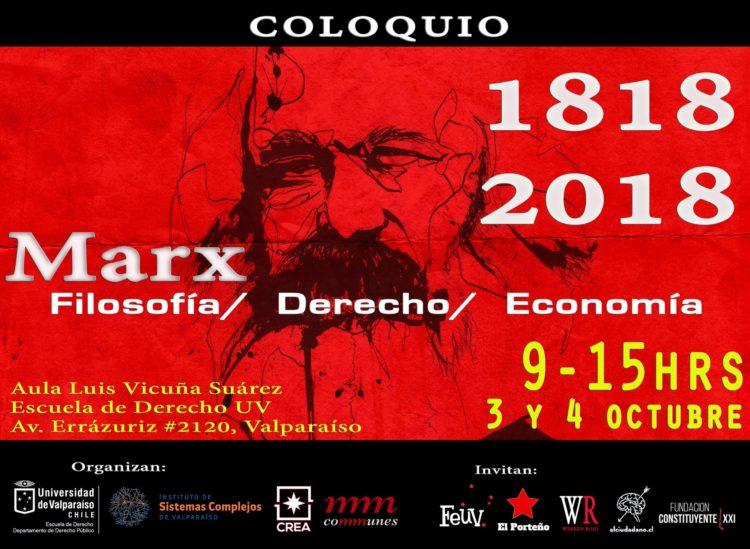 En Valparaíso reflexionarán sobre el legado de Karl Marx