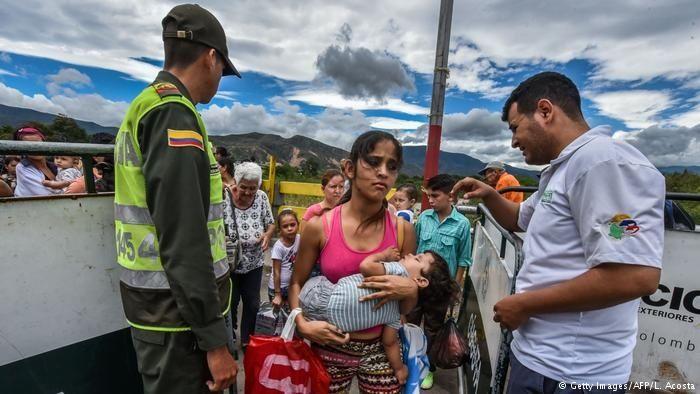 """ONU: El 80% de los venezolanos refugiados en Colombia """"padecen hambre"""""""