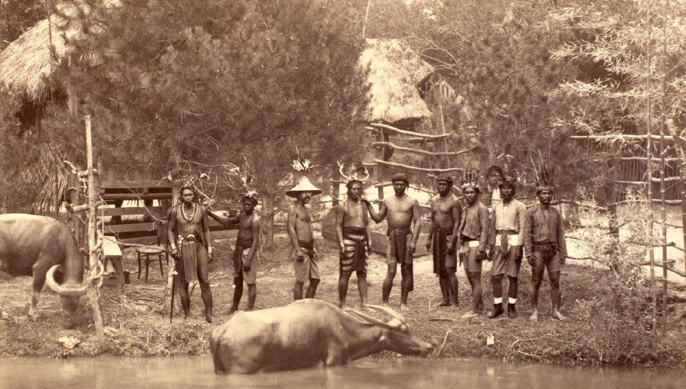 """¡Indignante! Fotos de """"zoo humano"""" que exhibía a indígenas en Europa"""