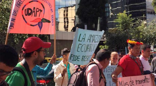 Grupo de indígenas exige al Gobierno que rechace laudo sobre caso Chevron