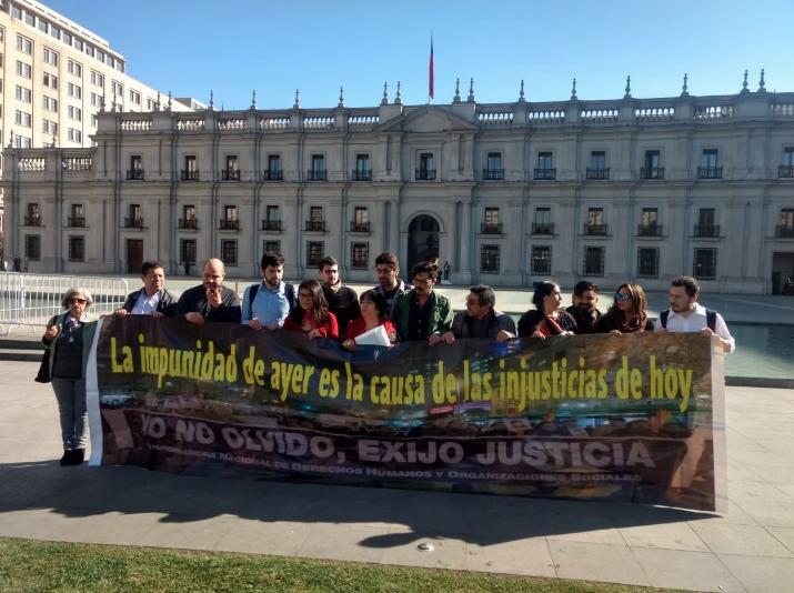 """""""Yo no olvido, exijo justicia"""": Llaman a marchar este 9 de septiembre contra la impunidad para violadores de DDHH"""