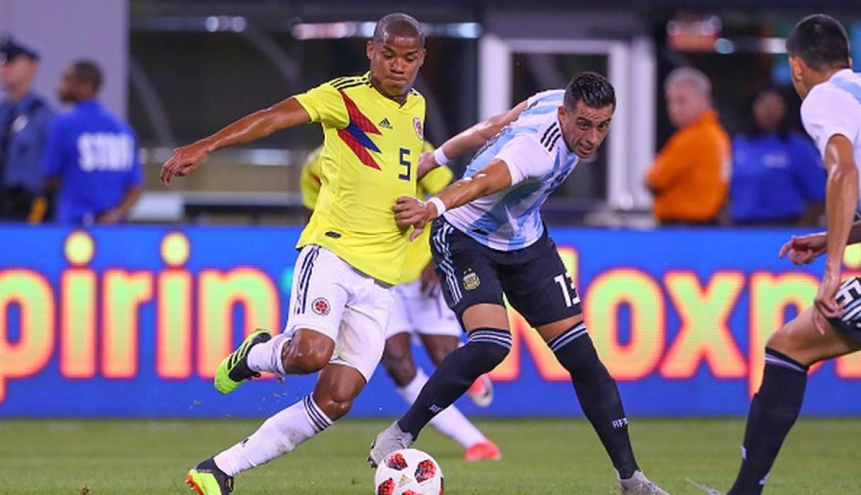 Amistoso entre Colombia y Argentina terminó con empate a cero goles