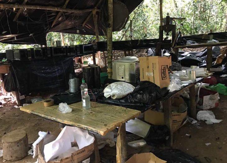 Incautados 4.100 kg de pasta base de cocaína al sur de Venezuela