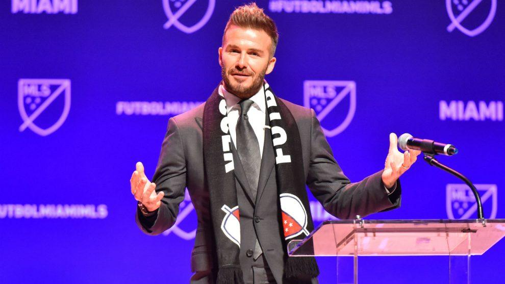 David Beckham presentó el nombre de su equipo: Inter Miami CF