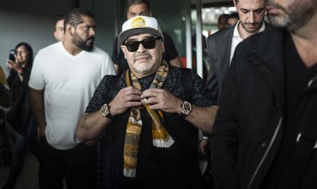 Maradona: Gestión de Manuel López Obrador «traerá felicidad al pueblo»