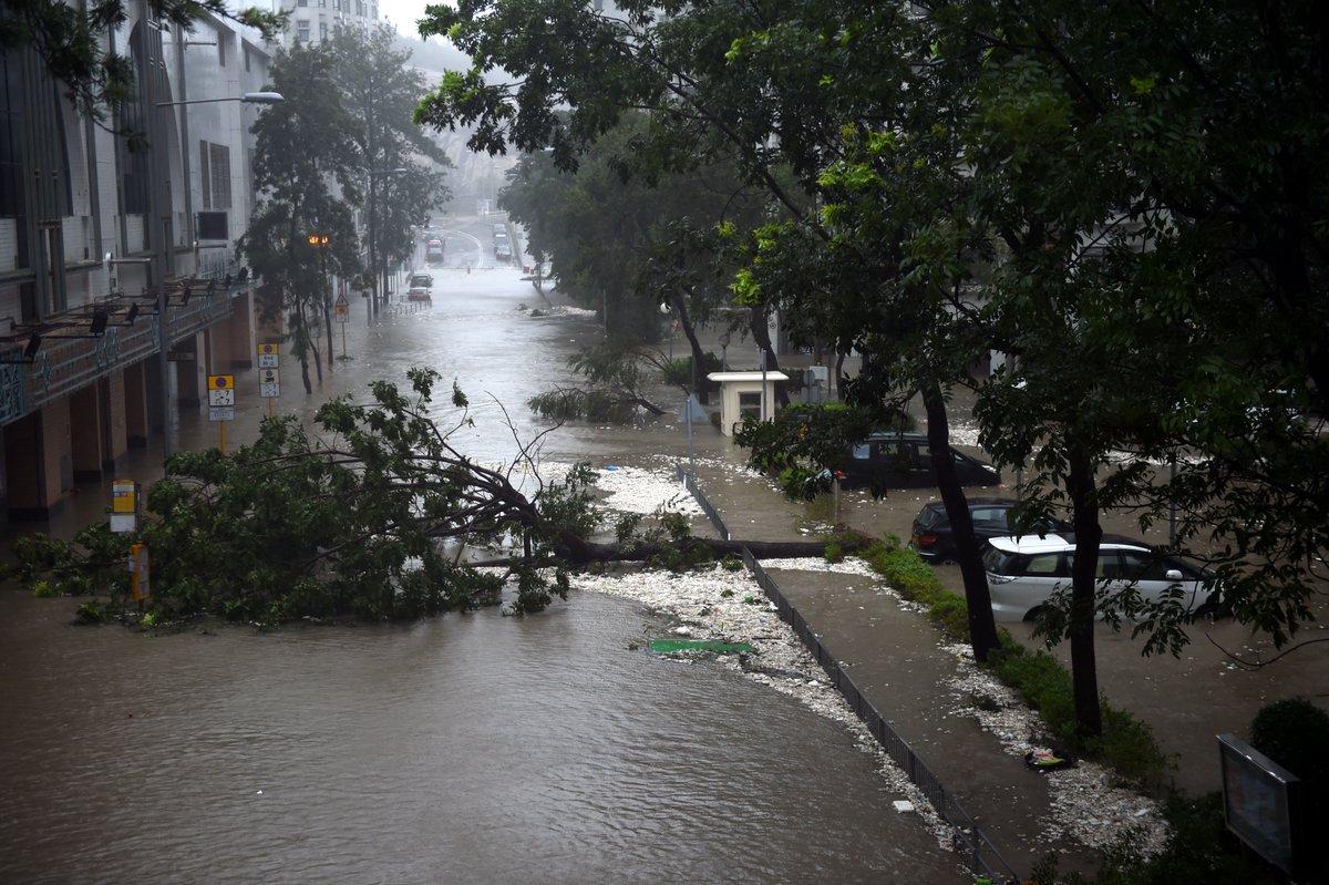 El supertifón Mangkhut hace estragos por Filipinas y China