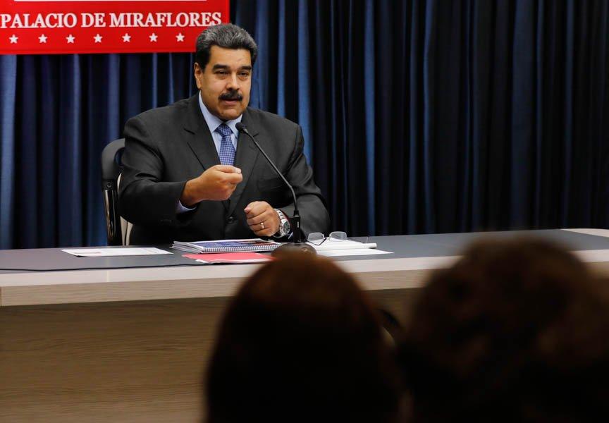 Maduro denunció persecución «estilo Hitler» contra venezolanos y desmonta «campaña de inquisición mediática» contra la nación