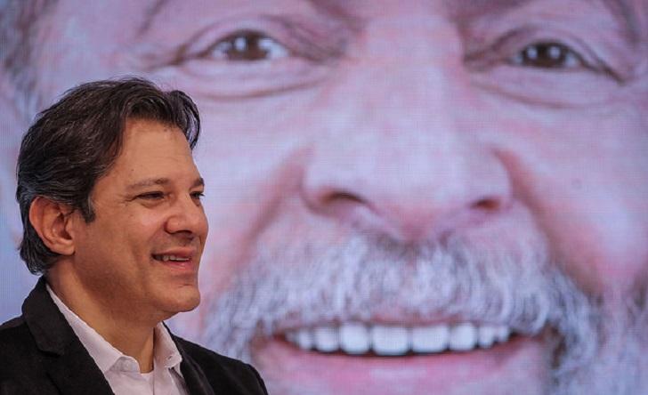 Fernando Haddad ya liderá la intención de voto en Brasil, según encuesta