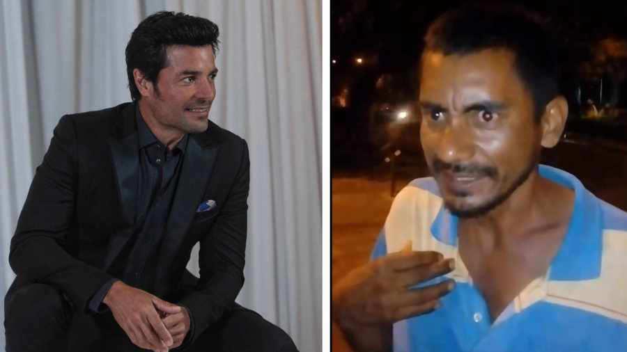 (+Video) Un vagabundo en Colombia canta como Chayanne y crea sensación en los fans del cantante