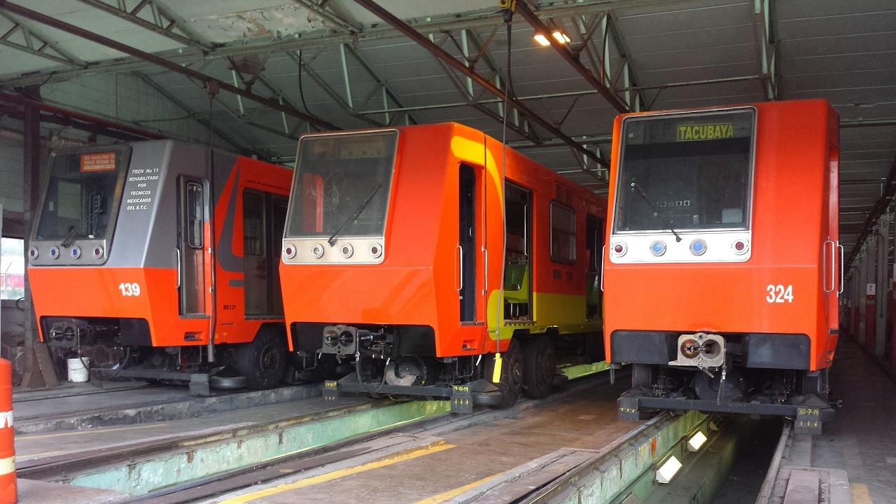 (+Foto) En la madrugada aparecen extrañas caras en vagones del metro de Ciudad de México