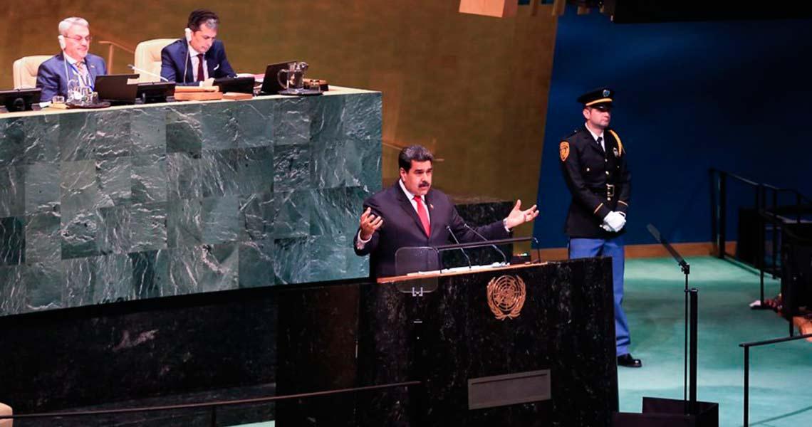 Intervención del Presidente Nicolás Maduro en la 73 Asamblea General de la ONU (Transcripción y video)