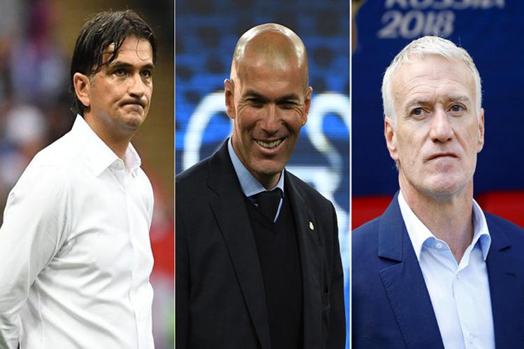 Zidane, Deschamps y Dalic, nominados para el premio FIFA al Mejor Entrenador