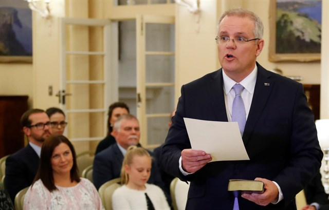 Liberales australianos eligen como primer ministro a un contrario al matrimonio Gay