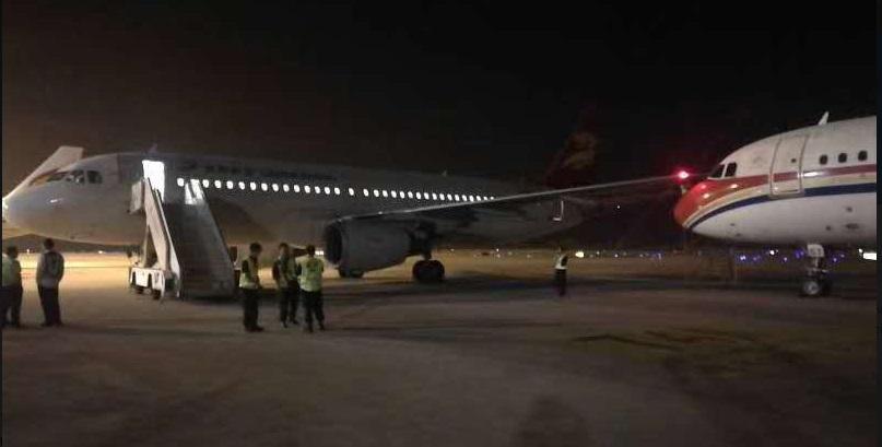 Colisión de aviones en China