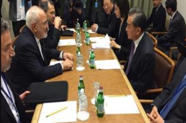 No importa la posición de Estados Unidos: China e Irán mantendrán relaciones económicas a pesar de las presiones de E.E.U.U.  dijo canciller chino