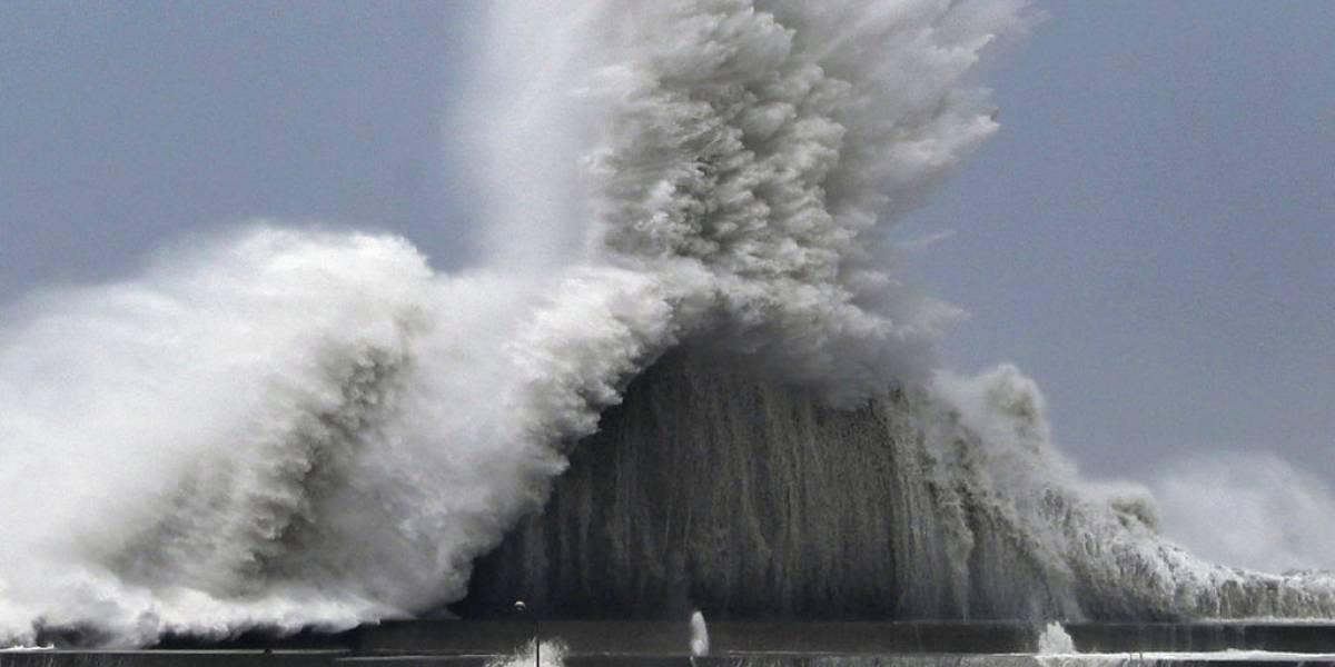 Japón es azotado por tormenta jebi