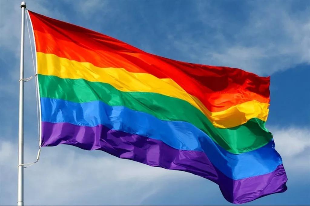 (+Fotos) Pareja homosexual pintó su casa de la bandera gay