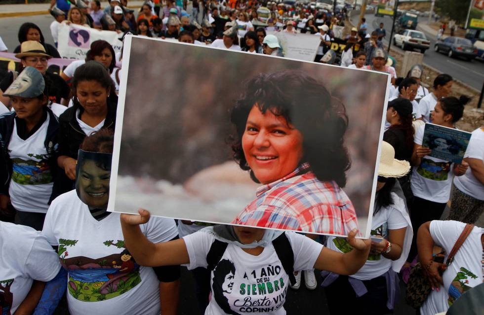 Suspendido indefinidamente el juicio contra asesinos de Berta Cáceres