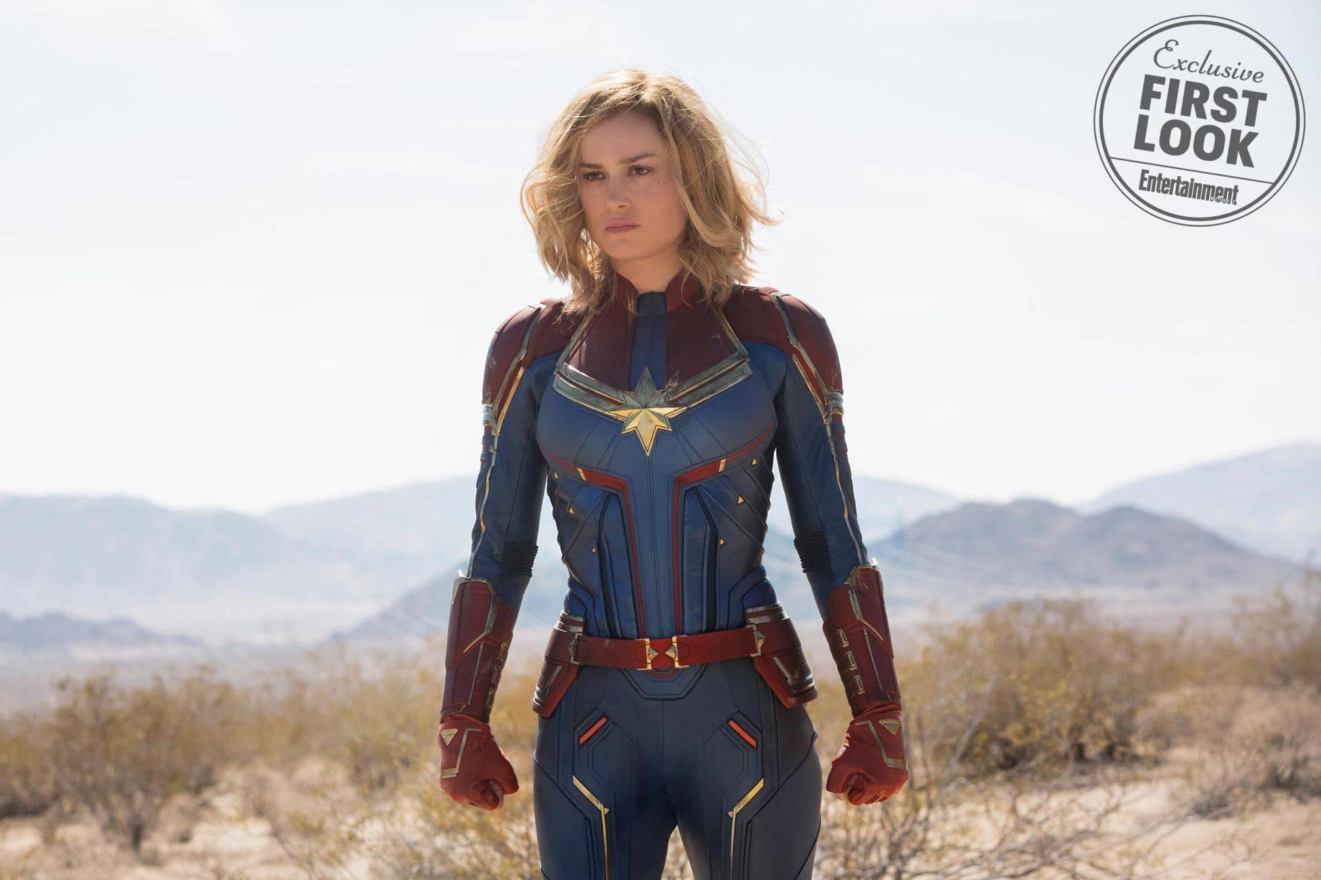 """Mira las primeras fotos oficiales de Brie Larson como """"Capitan Marvel"""""""