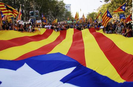 Cataluña exige a España una propuesta política en el aniversario del referéndum
