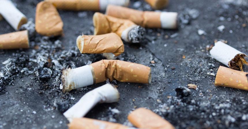 60 millones de colillas de cigarrillos se han lanzado en  playas de EE. UU. en 30 años