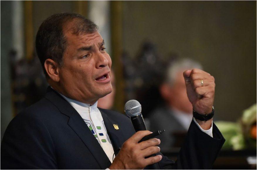 Abogados de Correa denuncian ante la ONU una manipulación judicial en Ecuador