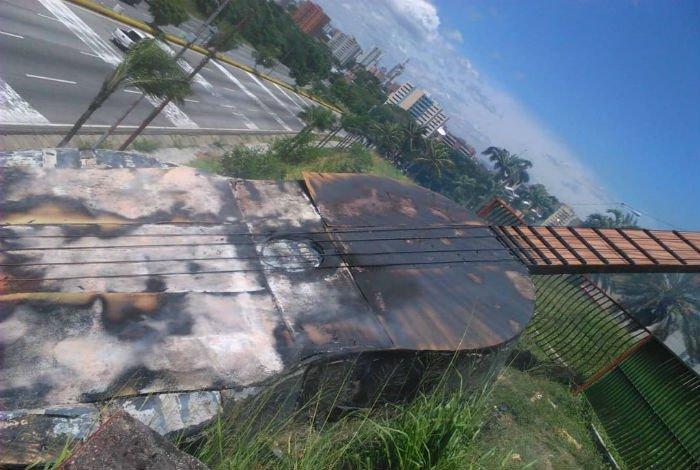 ¡Quemado!: Venezuela se quedó sin su cuatro de Barquisimeto, autoridades investigan incendio