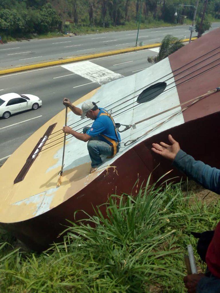 Iniciada recuperación de emblemático monumento de Venezuela: Barquisimeto volverá a tener su «cuatro» bonito