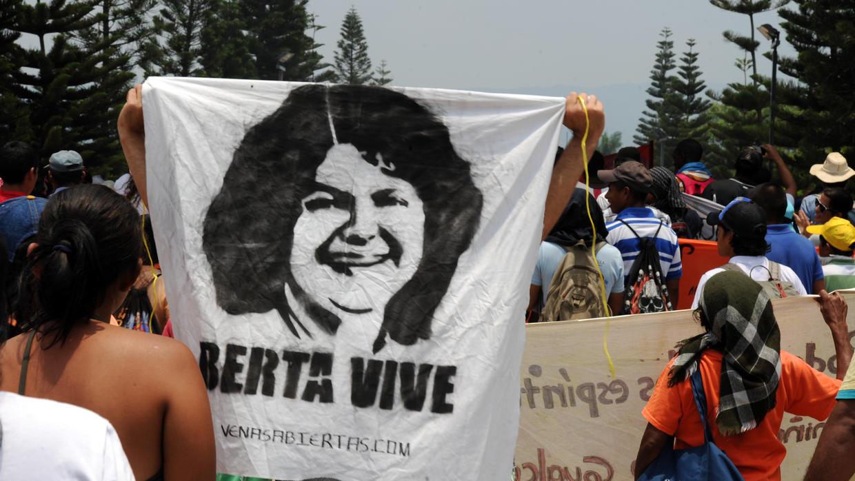 Familiares de Berta Cáceres esperan una condena para autores materiales del asesinato
