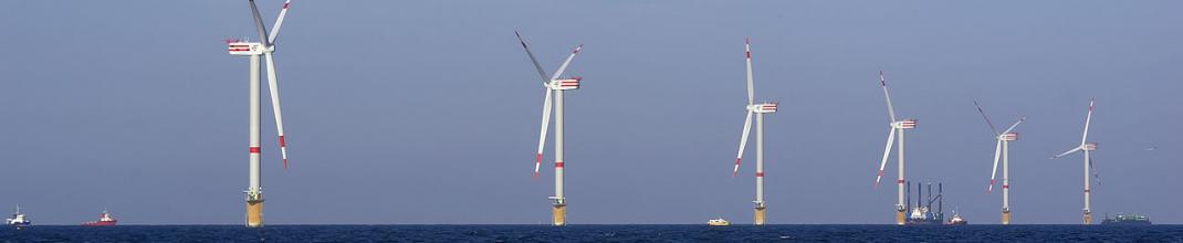 El parque eólico marino más grande del mundo está en el mar de Irlanda