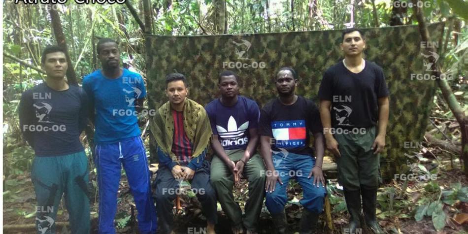 ELN liberó a seis personas que mantuvo secuestradas por más de un mes