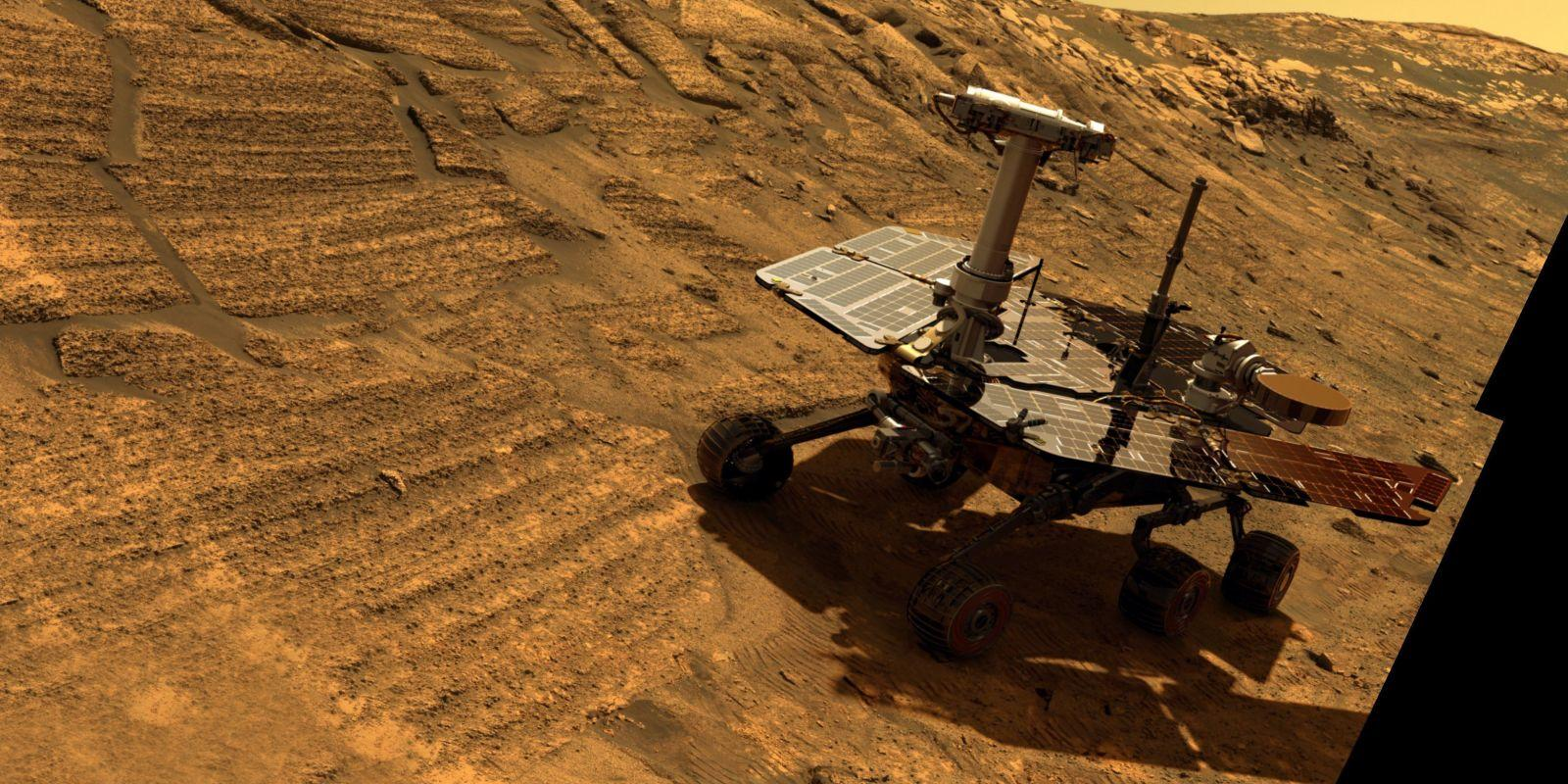 NASA publica primera foto del rover atrapado en Marte