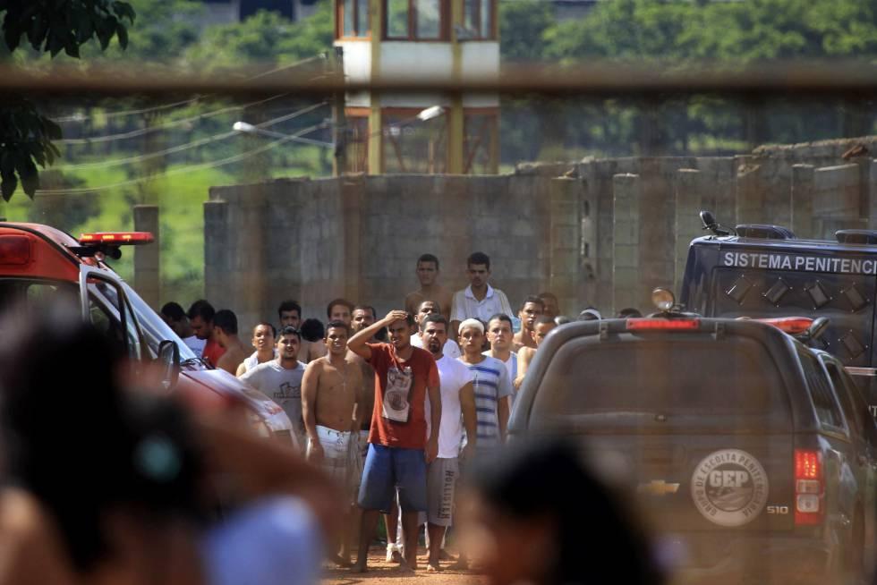 Motín en cárcel de Brasil deja siete muertos y tres heridos