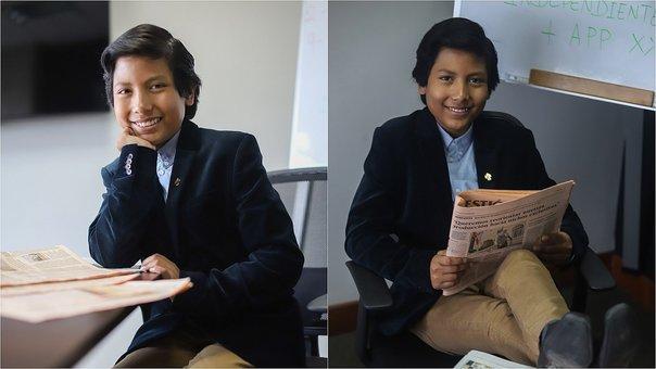 Niño peruano fundó su propio banco que ya cuenta con 2 mil clientes