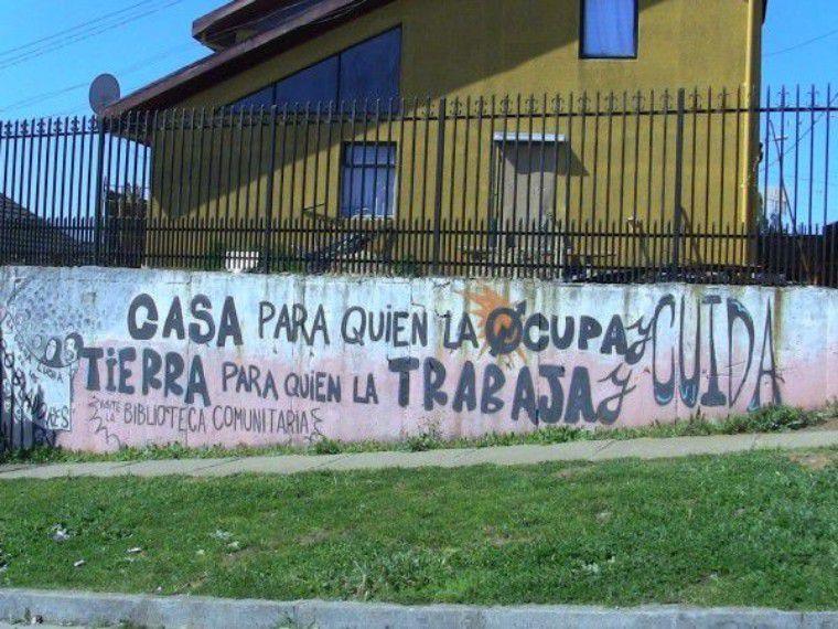 """Cuatro años de la toma Nueva Esperanza: el """"Barrio Integrado Okupa"""" de Concepción"""
